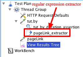 Using RegEx (Regular Expression Extractor) with JMeter